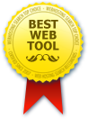 Webhostingsearch Award Best Web Tool