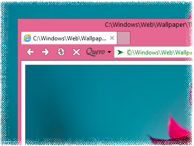 Screenshot Quero Toolbar 7 IE10 Desktop Windows 8